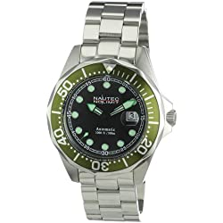 Nautec No Limit Men's Deep Sea Bravo Watch DSB AT/STSTGRBK
