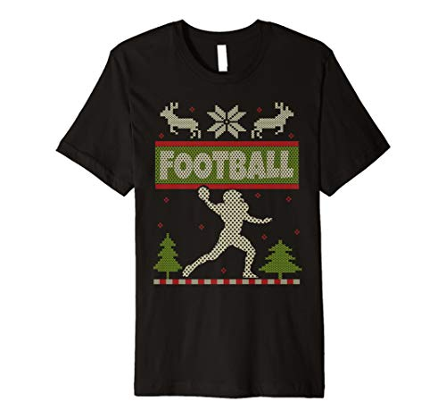 American Football Ugly Christmas Sweater Jersey Shirt