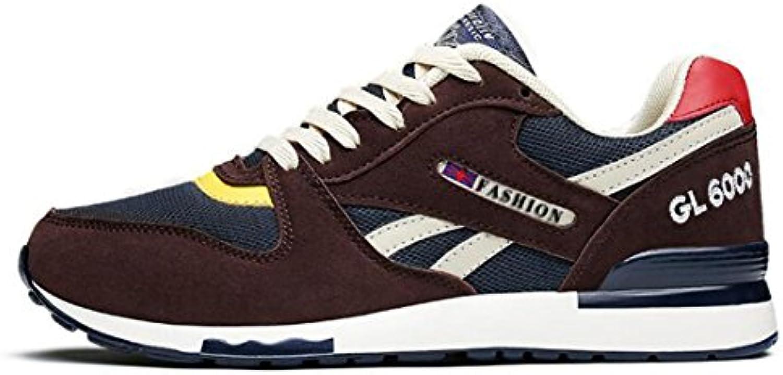 ZHONGST Fruumlhlings Maschen Breathable Britische Freizeitschuh Sport Schuh Paar Schuhe  Billig und erschwinglich Im Verkauf