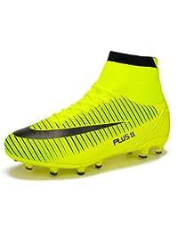 563ac4410 MAXTOP Zapatos de fútbol Hombre FG Spike Botas de fútbol de Caucho para  Hombre Adulto Zapatos