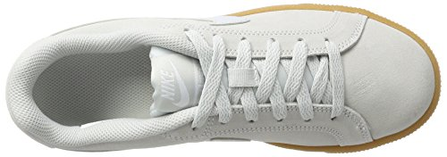 Nike Wmns Court Royale Suede, Sneaker Donna Avorio (Pure Platinum/pure Platinum 001)