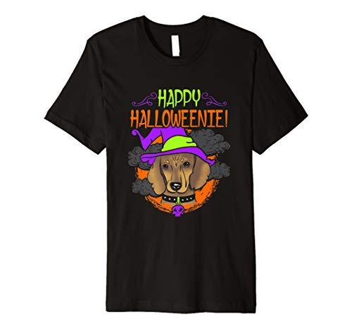 Shirt Dackel Hallow Weeny Wiener Hunde ()