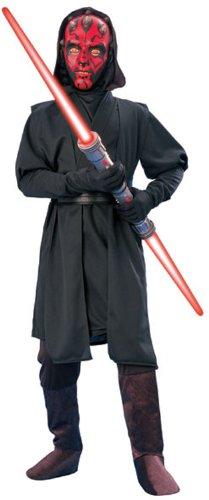 Darth Maul-Kostüm aus Star Wars für Jungen - 8-10 (Bad Teacher Kostüm)