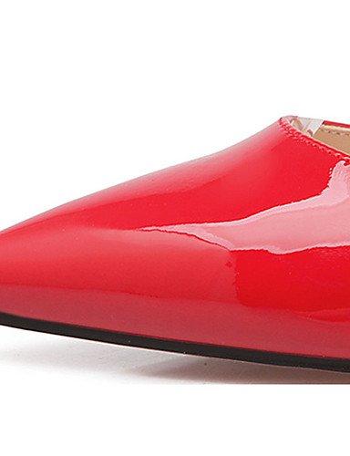 WSS 2016 Chaussures Femme-Décontracté-Noir / Jaune / Rose / Rouge / Gris-Talon Aiguille-Talons-Talons-Laine synthétique gray-us5 / eu35 / uk3 / cn34