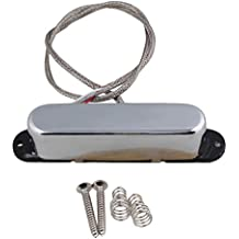 BQLZR 78.2x 21x 18.5mm Metal cobre imán de Alnico 5cerrada doble bobina Humbucker para guitarra eléctrica pastilla de cuello con tornillos y muelles