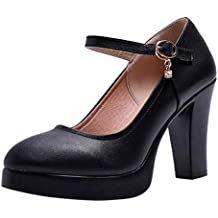 sports shoes 59403 bdbaf Amazon.it: Scarpe Donna Tacco 10 Cm