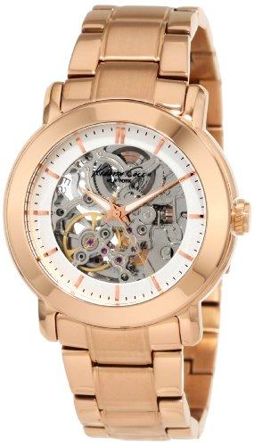 kenneth-cole-kc4758-auto-montre-femme-quartz-analogique-cadran-argent-bracelet-acier-marron