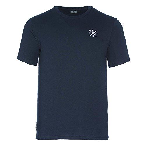 UNFAIR ATHLETICS Herren Oberteile/T-Shirt UNFR Taped Blau M (Athletic-t-shirt)