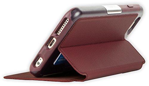 OtterBox Strada Etui en cuir antichoc pour iPhone 6 Plus/6S Plus Marron Bordeaux