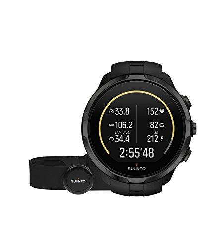 SUUNTO Spartan, Orologio GPS Multisport E Cinturino Unisex-Adulto, Black, Taglia Unica