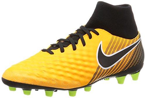 Nike Herren Magista Onda II Dynamic Fit (AG-Pro) Fußballschuhe, Orange (Laser Orange/Black-White-Vert Volt-White), 43 EU Herren Nike Schuhe Orange