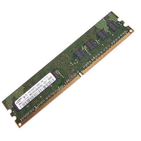 Ram Barrette Mémoire SAMSUNG 1GB DDR2 PC2-6400U M378T2863EHS-CF7 1Rx8 Pc Bureau