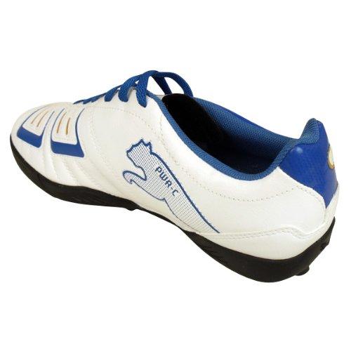 Puma PowerCat 4.12 TT Jr 102608 Unisex - Kinder Sportschuhe - Fußball Weiß