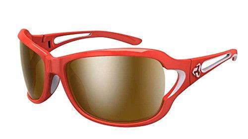 Ryders Eyewear Coco Rosso/Rosa, colore: marrone/argento Flash Specchio Lens occhiali da sole