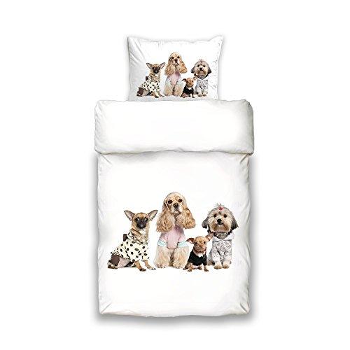 Bettwäsche Rv Bettwäsche Vs Home Trend Hund Hunde 135 X 200 Cm
