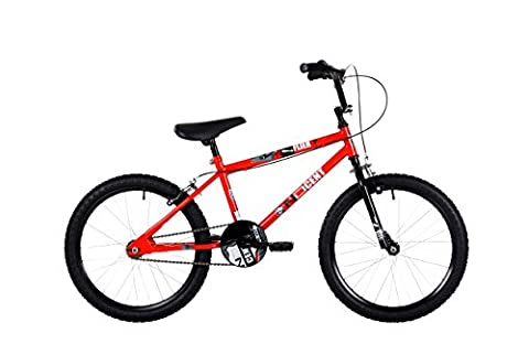 NDCent ND003 Flier BMX Bike, 20 inch Wheels - Red