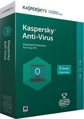 Kaspersky Anti-Virus Latest version - 1 PC, 3 Years (CD)