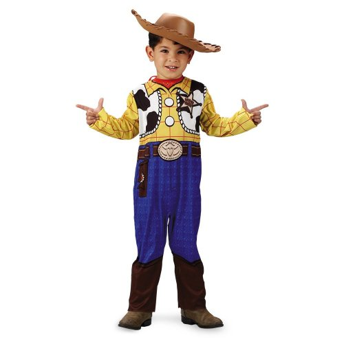 Disguise 187304 Toy Story Woody-Klassiker Kleinkind-Kind-Kost-m Gr--e: Medium - Toy Story Kostüm Für Kleinkind