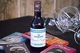 Botella personalizada vino para regalo comunión azul (pack de 12 botellas)