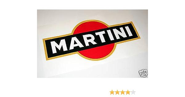 Le Mans Martini Optik Aufkleber Großes Logo Porsche Lancia Alfa Focus Auto