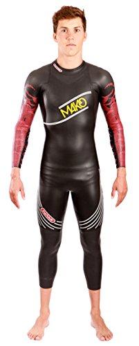 Mako Nami 2017 Неопреновый костюм для триатлона, мужской, красный, размер S