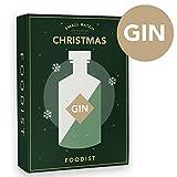Foodist Gin Adventskalender mit 24 hochwertigen Gins (je 5cl) aus der internationalen Bar-Szene, (24 x 5cl)