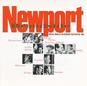 Newport Broadside-Newport Folk [CASSETTE]