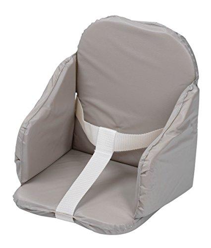 Tinéo Coussin de Chaise en PVC à Sangles Gris