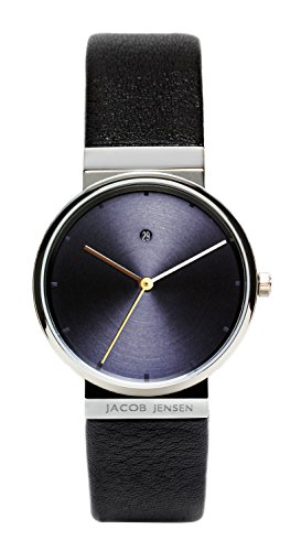 Jacob Jensen Womens Analogue Quartz Watch with Leather Strap 851