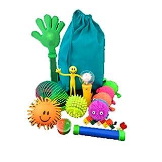Pheebsters Sensory Toys fidget Kit / Fiddle Toy Bag - Autism, Special Needs, ASD, SEN, ADHD, SPD
