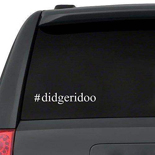 Teeburon Didgeridoo Hashtag - Abziehbild x 3