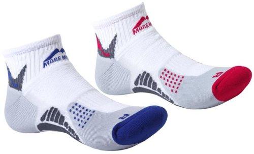 More Mile Mens San Diego Cushioned Running Socks (2 Pair Pack)