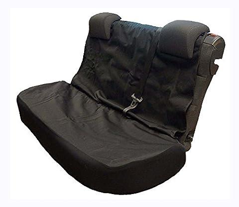 FORD C-MAX (2011-present) étanche Housse de siège arrière semi-tailor Fit (Noir)