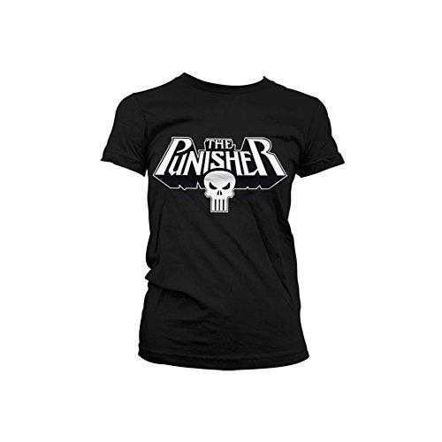 The Punisher - Logo dames T-shirt zwart - Superhelden Superhelden Televisie merchandise strips strips Das Punisher-logo-poster