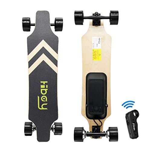 Hiboy Skateboard Eléctrico Portátil – Mando a Distancia inalámbrico – Motor 2x350W – Modelo...