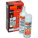 K&N 99-5003EU Kit de Limpieza y Mantenimiento del Filtro de Aire