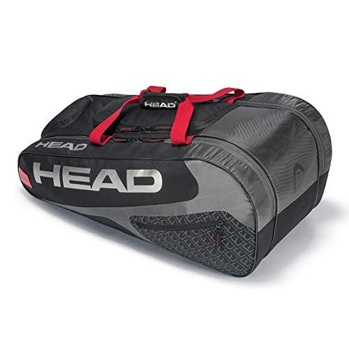 HEAD Unisex- Erwachsene Elite Allcourt Tennistasche, Black/red, Einheitsgröße