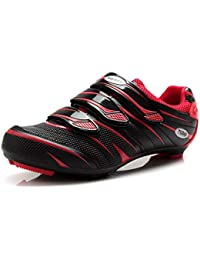Tiebao Women s Road Cycling Shoes SPD Lock Pedal Bike Shoes Cleated Bicycle  Ciclismo Shoes e6ee4a470