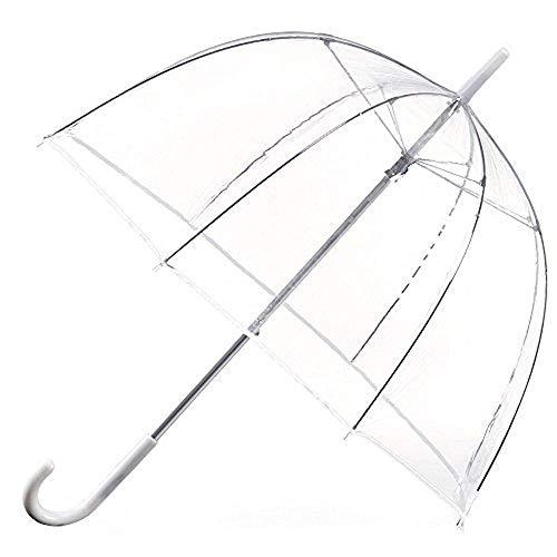 PetHot® 80 cm Paraguas Transparente Paraguas Cúpula