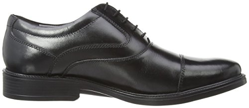 Hush Puppies Rockford Oxford Toe Cap, Oxfords homme noir (Nero (Black))