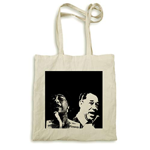 Ella Fitgerald et Duke Ellington sac naturel