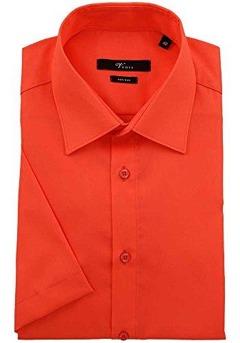Venti Herren Businesshemd 001620 31 orangerot
