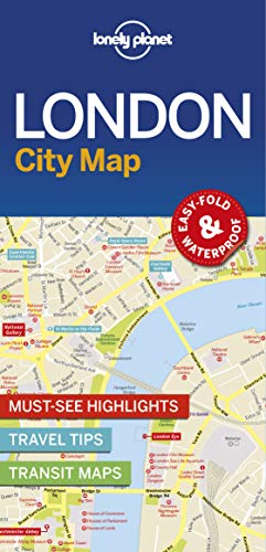 Lonely Planet London City Map (Lonely Planet City Maps) (Map London City)