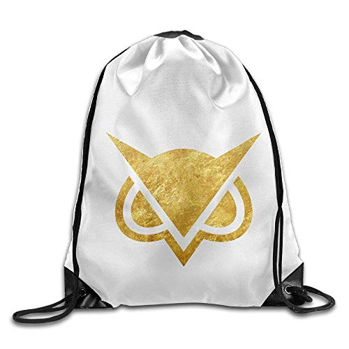 Online Alias Vanossgaming Owl Mask Drawstring Bags FunnyMountain Backpack School Travel Backpack For Teens College For Men & Women White