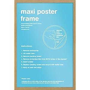 GB eye Ltd FMMXA1OK Bilderrahmen für Maxi-Poster, 61x91,5cm