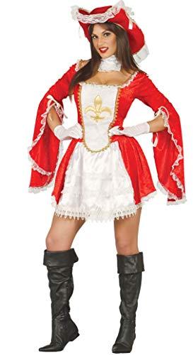 Fiestas Guirca Musketier Kostüm bewacht die König - Drei Musketiere Kostüm Frauen