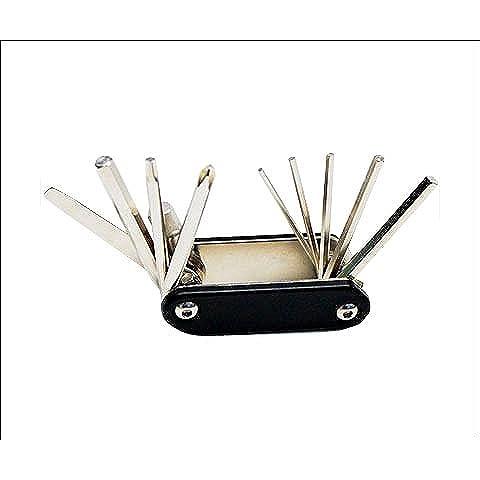 Ultracycle Folding Allen Key Set + - 2 2.5 3 4 5 6 8 by Ultracycle