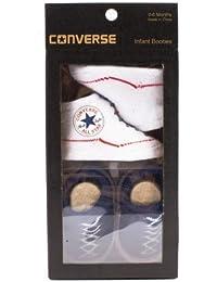 Converse - Patucos de algodón para niño azul azul