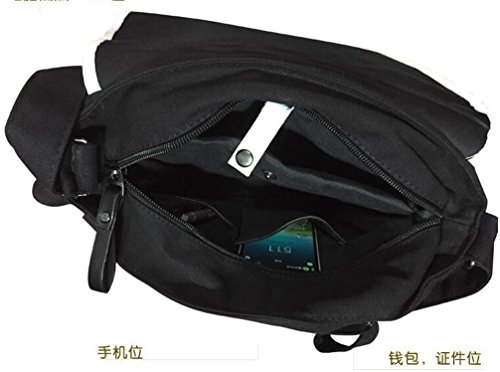 Yoyoshome giapponese anime Cosplay zaino Zaino messenger bag borsa a tracolla nero Fullmetal Alchemist Black Butler3
