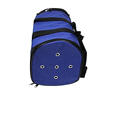 Nestling® Blue Oxford Cloth Pet Carrier Bag Dog Cat Bag Foldable Pet Travel Carrier Ideal for Puppy, Cat, Rabbit and… 9